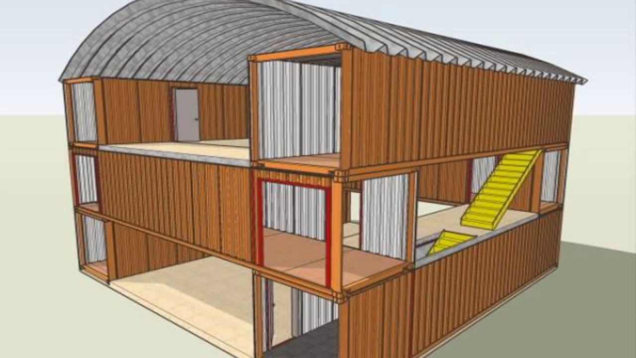 Shipping container house designs youtube - Container homes youtube ...