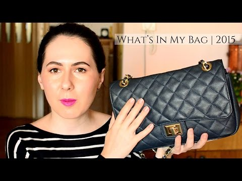 WHAT'S IN MY BAG 2015 thumbnail
