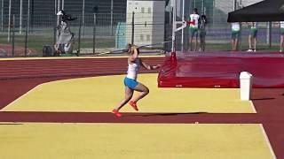 Györ2017 Javelin voittoheitto