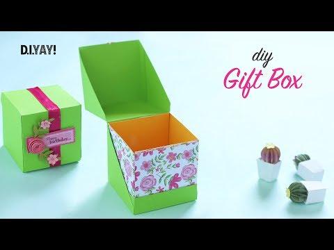 Gift Box   Gift box Ideas   Paper Craft   Paper Box