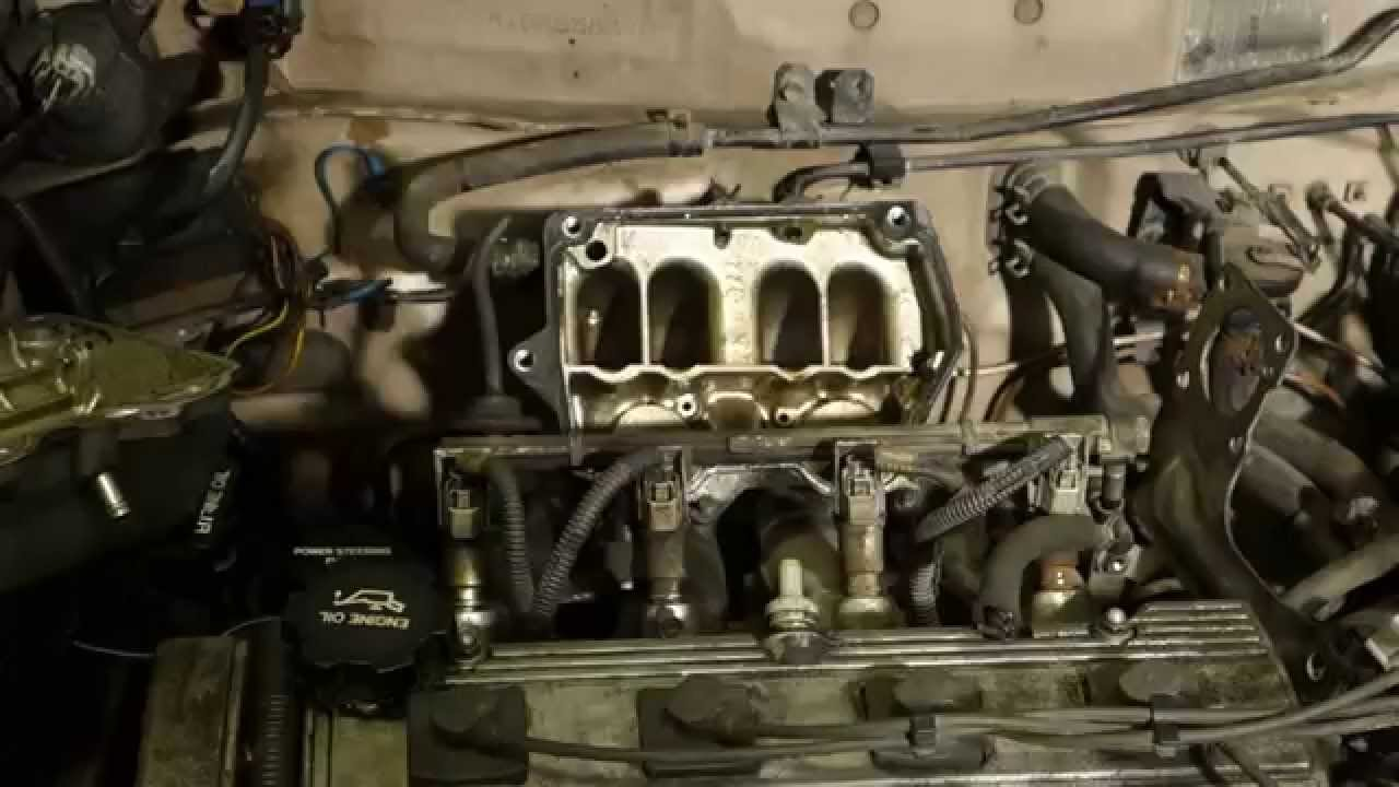hight resolution of how to clean intake manifold inner area toyota corolla years 1990 to 2000 youtube