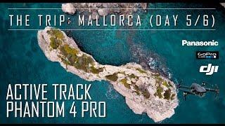 *4K* DJI Mavic Pro Drone Active Track Phantom 4 Pro - Day 5+6 VLOG Mallorca