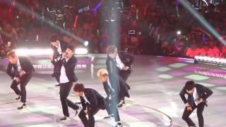 BTS(방탄소년단) in KCON 2014 - Boy in Luv + No More Dream [FANCAM]