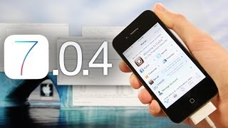 NEW Jailbreak 7.0.4 Tethered iOS iPhone 4,RageBreak & Cydia