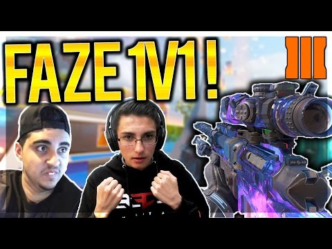 FAZE CLAN 1v1 TRYOUTS IN BLACK OPS 3! INSANE $50 QUICKSCOPING WAGER (FaZe Serum Vs FaZe Salty 1v1)