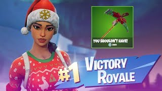 🔴 I HAVE THE BEST CHRISTMAS SKINS COMBO SEASON 7-FORTNITE