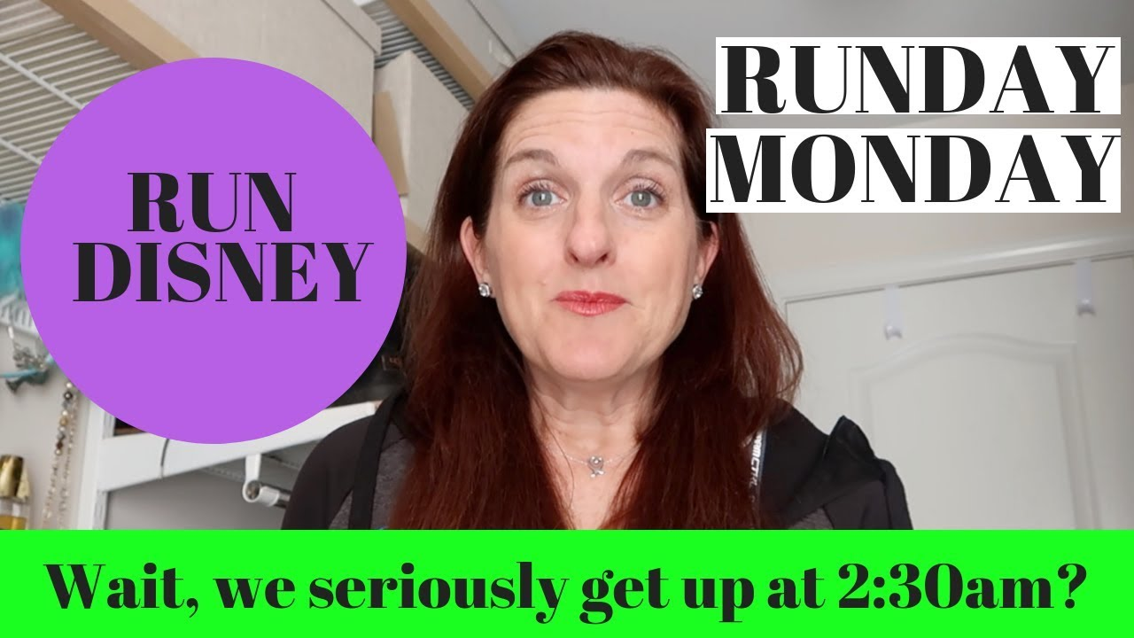 RUNDAY  MONDAY RunDisney Drop Bags and Throwaway Clothes - YouTube
