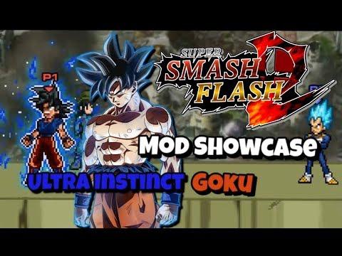 SSF2 Mods P 10 Goku Ultra Instinct MUST SEE!! - Full download
