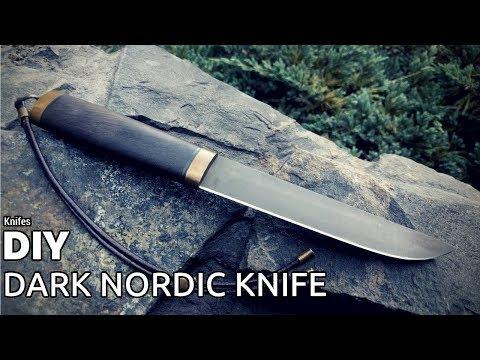Knife Making - Dark Nordic Knife