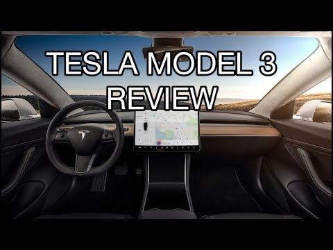 Tesla Model 3 Review 2017: Biggest design changes in automotive history, no instrument cluster