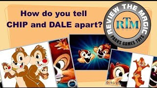 How do you tell the difference between Chip and Dale ...  DISNEY SECRETS REVEALED!