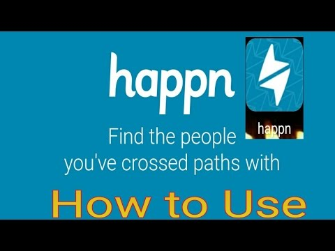 Happn : How To Use Happn | Know All About Happn