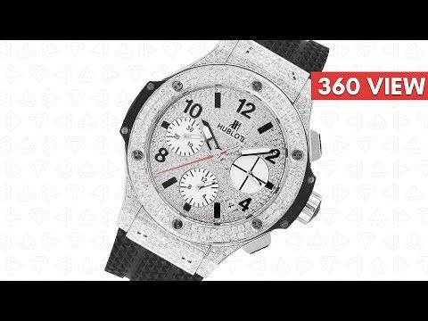 Hublot Big Bang 41mm Custom Diamond Set 342.SB.131.RX - Time 4 Diamonds