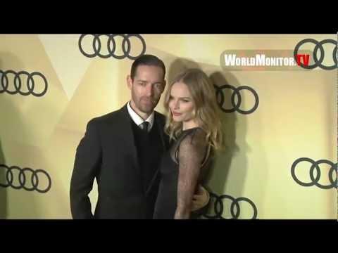 Kate Bosworth and Michael Polish at Audi 2013 Golden Globe Awards Kickoff  Week Party