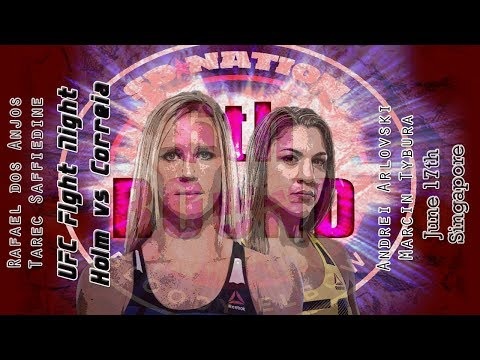 UFC Singapore 6th Round post-fight show