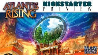 Atlantis Rising Preview by Man vs Meeple (Elf Creek Games)