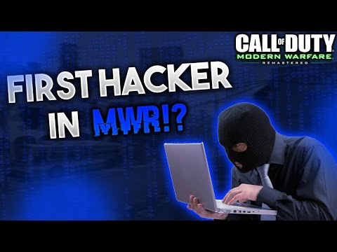 First Hacker In MWR! - COD Modern Warfare Remastered Hacking Aimbot Gameplay