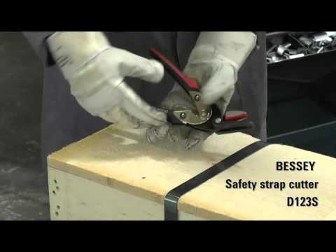 BESSEY Safety Strap Cutter D123S – Available at Ottawa Fastener Supply LTD