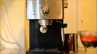 Preparare espresso & cappu…