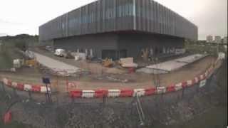 Construction Of The Scottish Centre For Regenerative Medicine Building