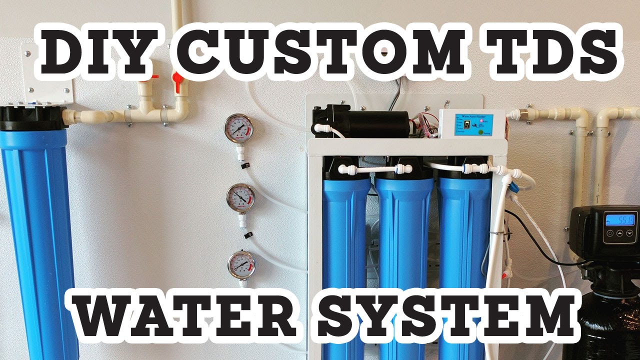 Whole House Water Filtration System >> DIY Custom TDS Water Filtration System For Perfect Coffee Water - YouTube