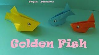 Origami - Papiroflexia. Golden Fish, Fácil