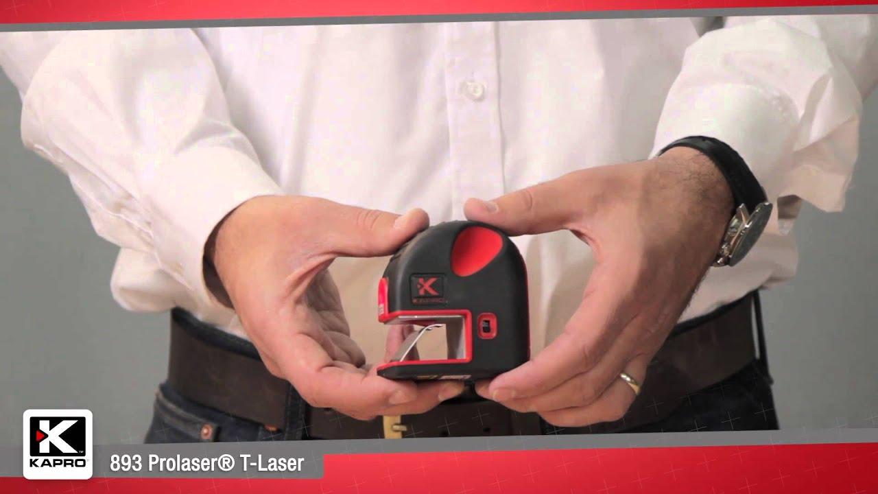 893 Prolaser® T-Laser Clip-on Marking Laser