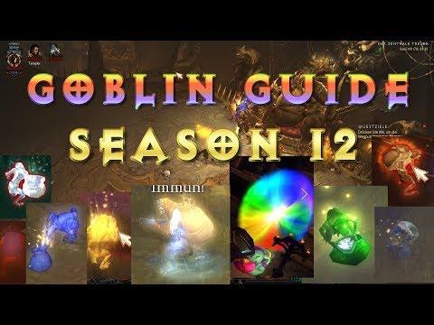 Diablo 3 - Saison 12 - Goblin Guide | Farm Guide | Farm Route | German