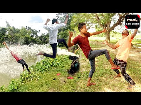 Best Funny Comedy Video 2021 Ep #3   Try not to laugh   Funny Comedy Video by   Sahe Comedy Brand  