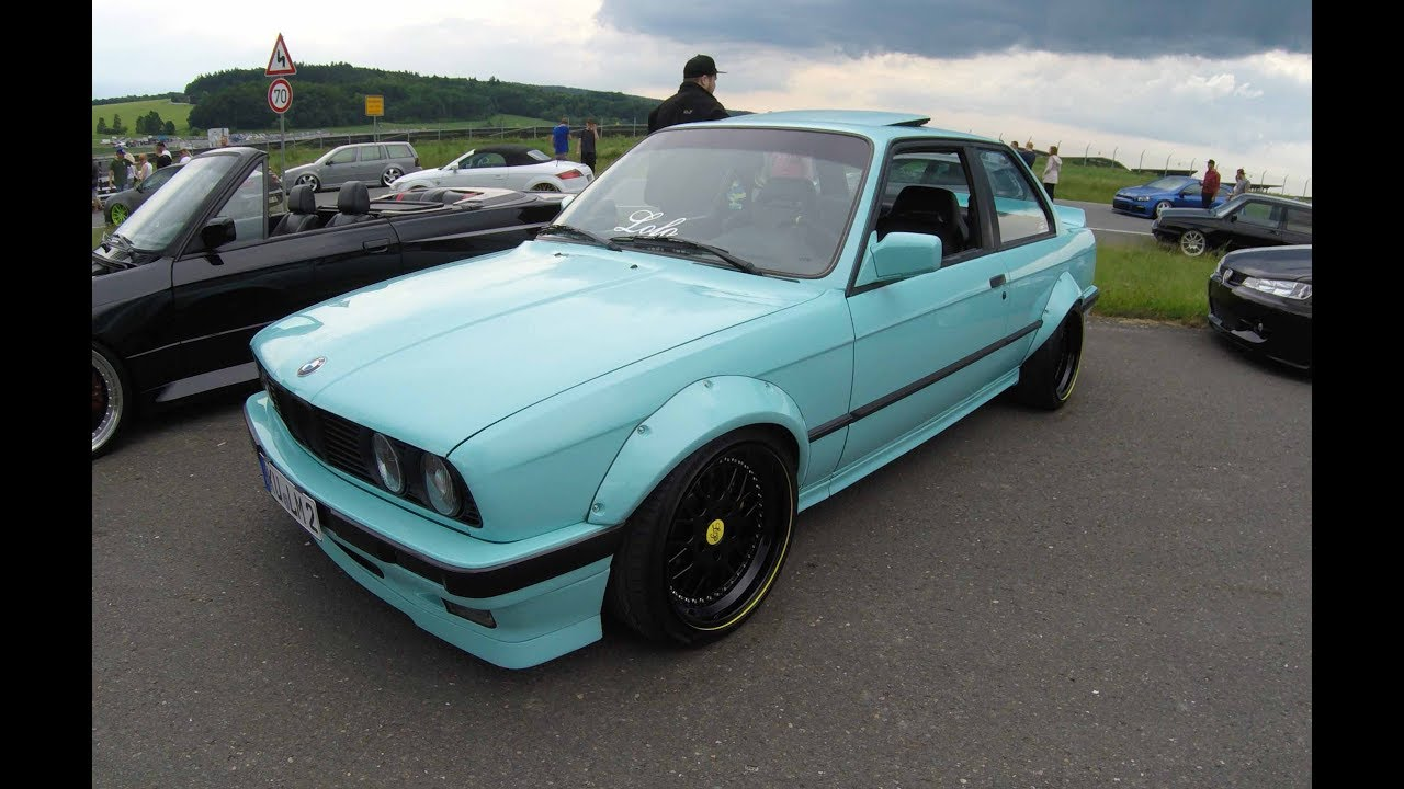 bmw 3 series e30 coupe wide body kit lowered show car. Black Bedroom Furniture Sets. Home Design Ideas