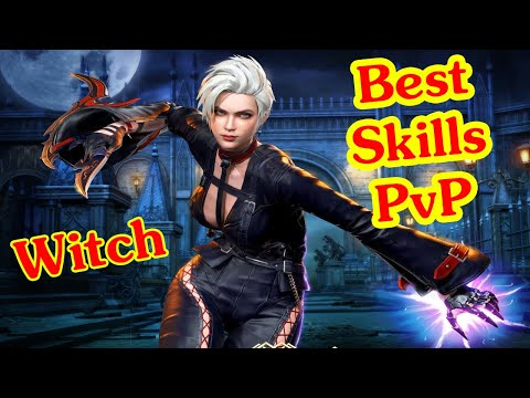 Darkness Rises Witch PvP - Best SKILLS for PvP