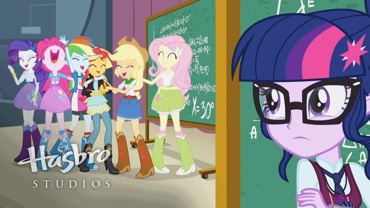 MLP: Equestria Girls - Friendship Games EXCLUSIVE Trailer - YouTube