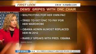 """Ouch! MSNBC Wonders If DNC Chair Debbie Wasserman Schultz Is """"Political Kryptonite To Her Party"""""""