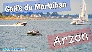 Entre Arzon et Locmariaquer ; Golfe du Morbihan ; Port Navalo ; Bretagne sud ; France