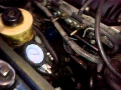 мигает датчик давления масла вольвов70 1999г