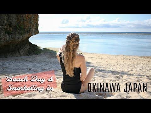 Beach Day & Snorkeling | Okinawa Vlog 2