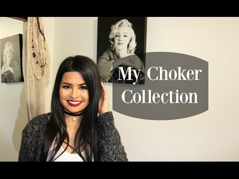 DIY & My Choker Collection | Madison Danielle
