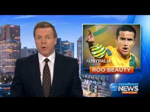 Socceroos in Honduras on Ten Eyewitness News