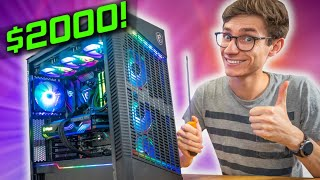 The ULTIMATE $2000 Gaming PC Build 2021! 😁 RTX 3070, Ryzen 5800X w/ Gameplay benchmarks!   AD