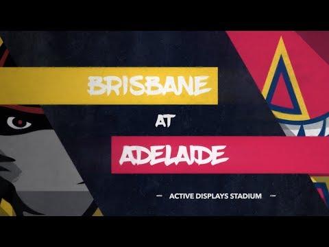 LIVE: Brisbane Bandits @ Adelaide Bite, R5/G2