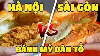 Bánh mỳ dân tổ HÀ NỘI vs Bánh mỳ dân tổ SÀI GÒN (Oops Banana)