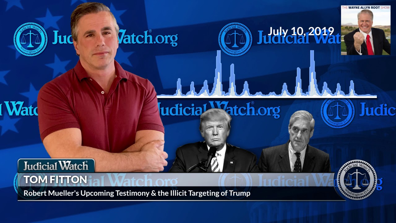 Judicial Watch Fitton: Clinton Campaign Used Russian Intel for Anti-Trump Dossier—Why Didn't Mueller