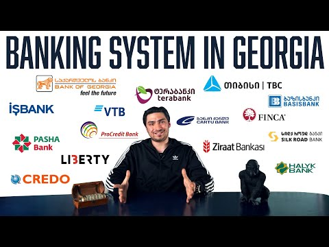 Banking System In Tbilisi Georgia:Fixed Deposits, Loans, Interest rates, Stocks, And Crypto