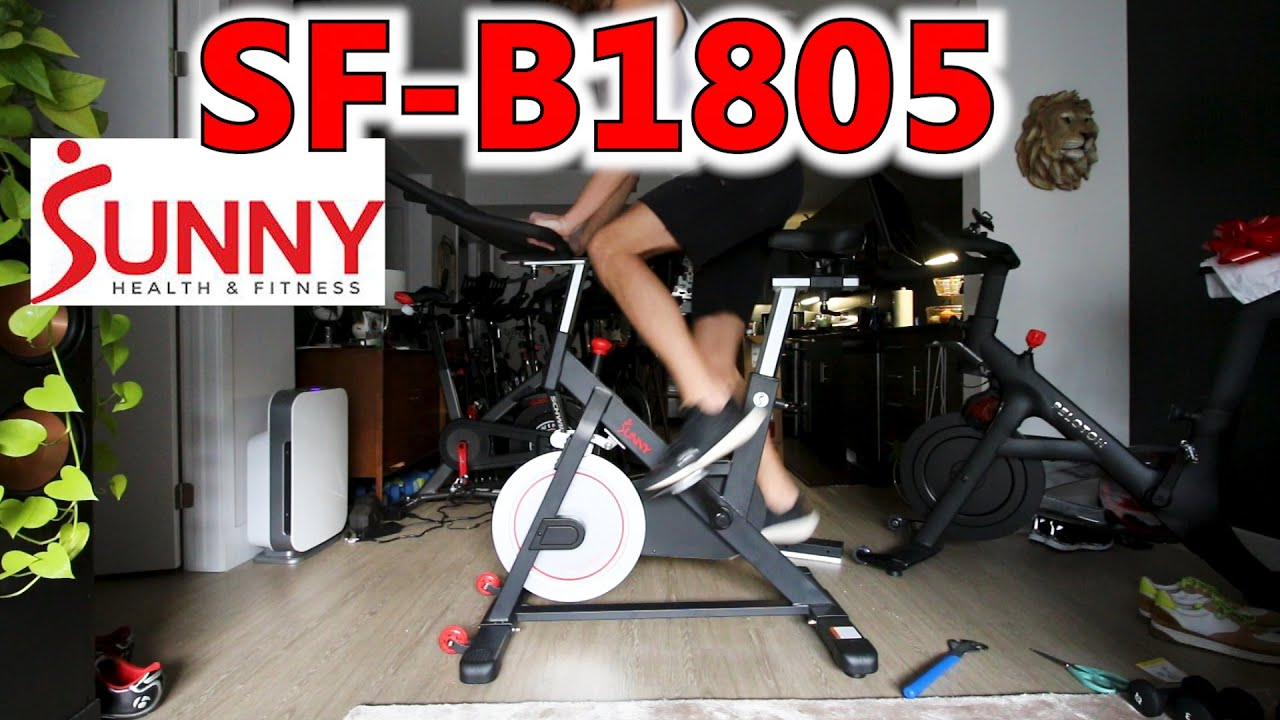 Sunny Health and Fitness SF-B1805 first impressions review, unboxing and assembly – sunny bike 1805