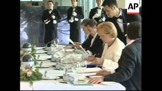 WRAP World leaders announce decision on climate change ADDS G5 meeting