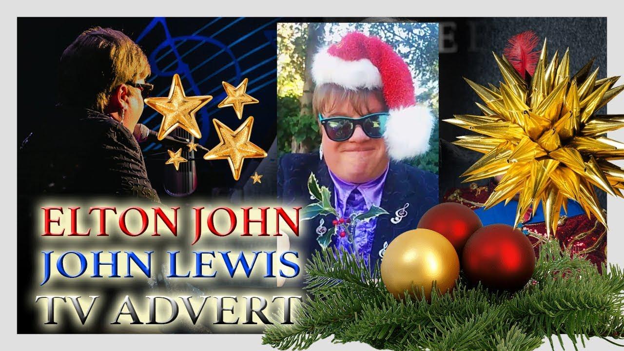 Elton John Christmas Ornament.John Lewis Advert 2018 Featuring Elton John Eltonjohnlewis