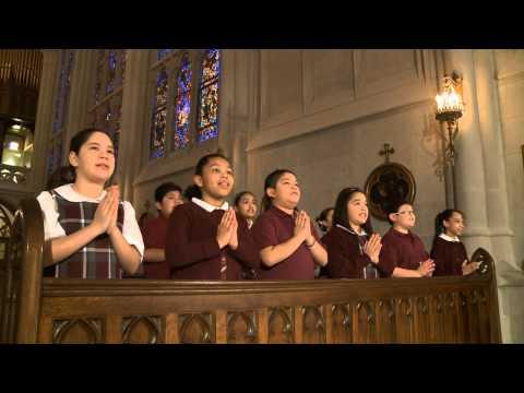 CATHOLIC SCHOOL CHILDREN PRAY THE NICENE CREED