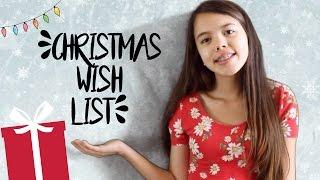 2016 Christmas Wish List!