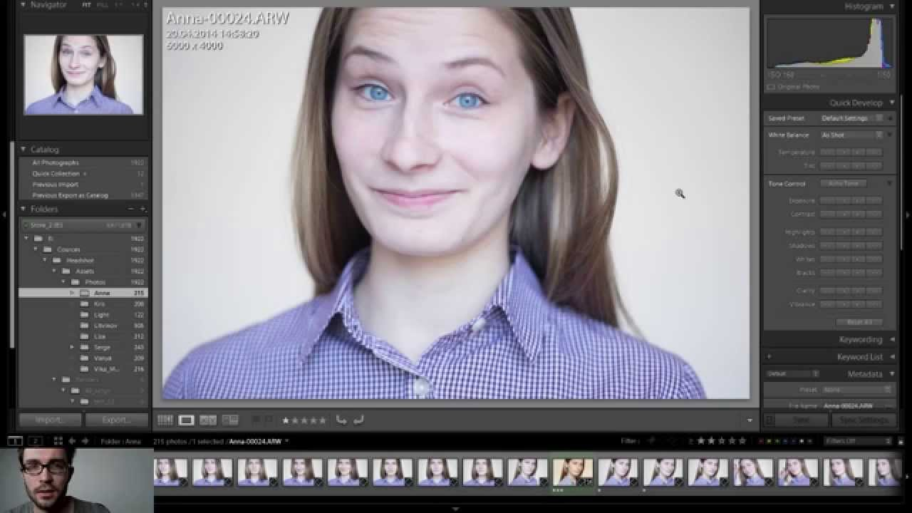 Стрим по теме: Позирование для Портретной фотографии