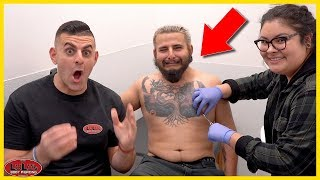 100K Subscriber Nipple Piercing!!
